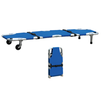 Foldaway Aluminum Stretcher with Wheels